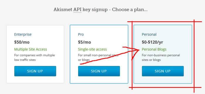 Выбрать тарифный план на сайте wordpress.com - Спам в комментариях WordPress или как защитить свой сайт от спама?