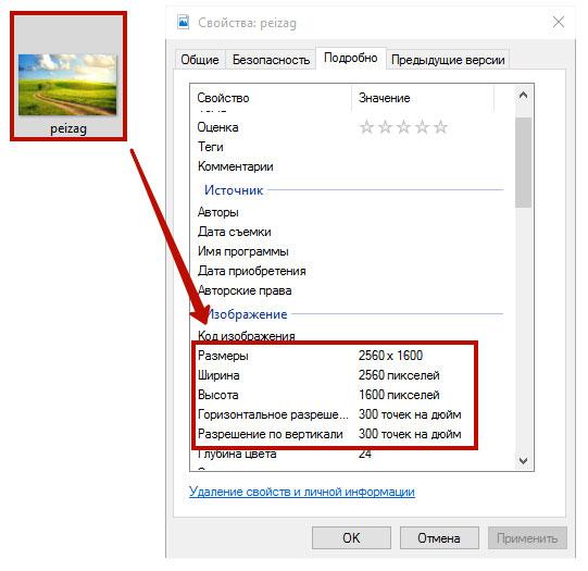 Разрешение графического файла. Как оптимизировать картинку для сайта.