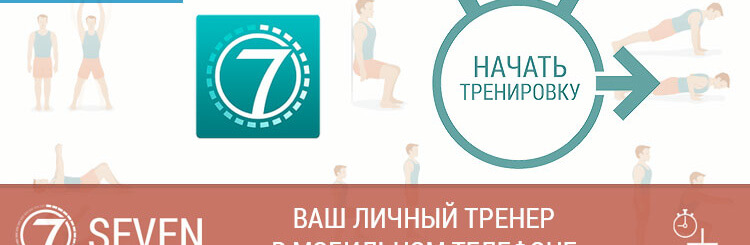 Приложение Seven — ваш личный тренер в мобильном телефоне