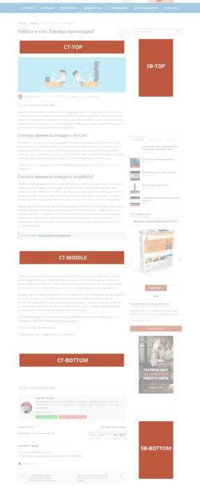 Рекламные позиции на сайте zaurmag.ru